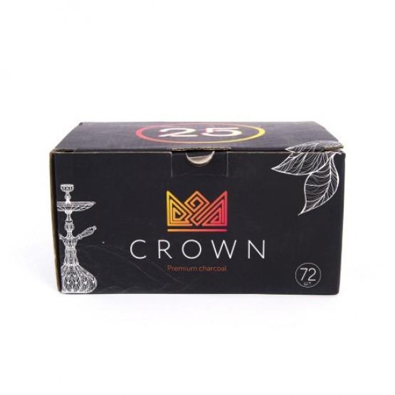 Уголь кокосовый Crown 1 кг (72 шт)